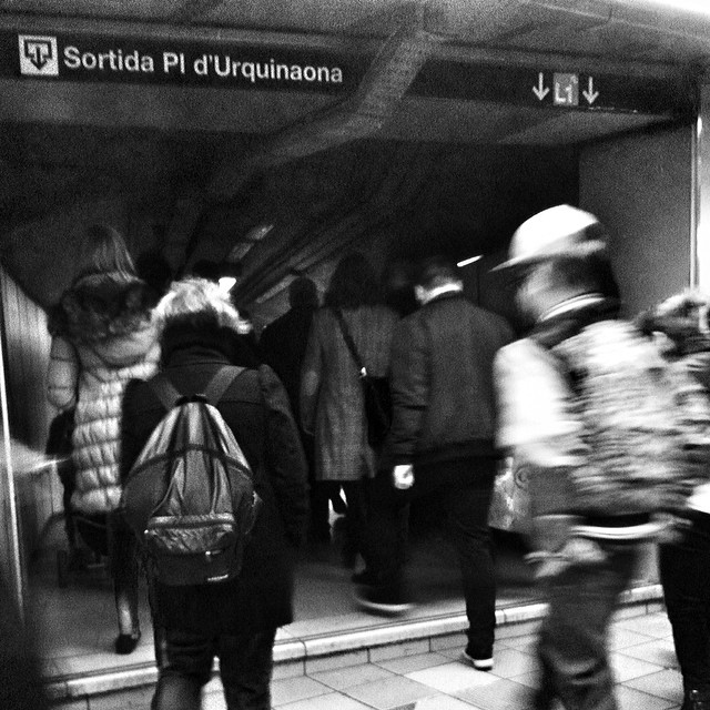 bnw_madrid     by Benjamín Julve bcn, blackandwhite, bnw_shots, bw, bwzgz, igers, ig_andalucia, ig_barcelona, iphonesia, monochrome, passengers, photooftheday, statigram, street, streetphotography, transport, ubiquography, webstagram,