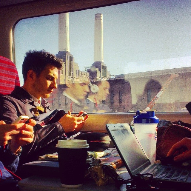 Morning Glory     by southcoasting batterseapowerstation, london, passengers, traingame,