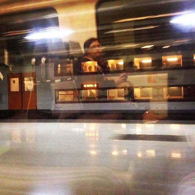 Cercanías Barcelona  by Rafa Pérez passengers,
