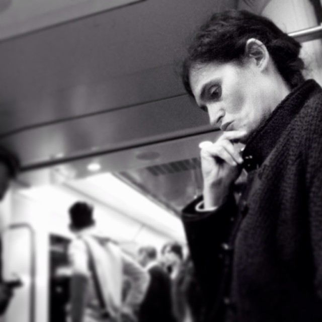 Thinking about why the Spanish people must to pay the salaries of corrupt politicians who are in public office by Godo Chillida barcelona, blackandwhite, bws_worldwide, corruption, criticalthinking, government, monochrome, passengers, politicians, resignation, social, streetbw, streetphoto, streetphotography, subway, subwaypeople, ubiquography,