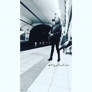 Pasajera  324/365 by miguel sánchez diario365, documentary, everydayeverywher, grupulldepeix, humancondition, igersbarcelona, igersbcn, igerscatalunya, ink361, koancollective, metrobcn, mobile, mobilephotography, passengers, photojournalism, photojournalist, storytelling, street, streetphotography, subway, thebarcelonist, ull15, worldproject,