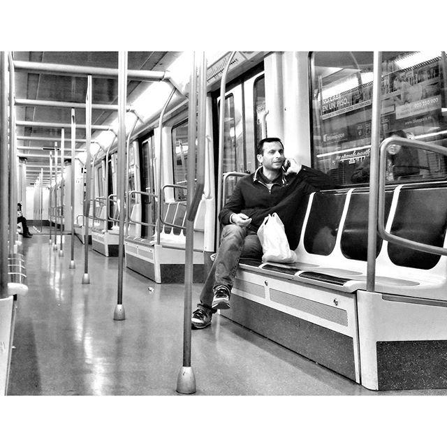 Untitled by Godo Chillida barcelona, blackandwhite, black_and_white, bnw, bnw_life, bnw_society, bw, bw_lover, bw_photooftheday, bw_planet, calling, igersbnw, monochrome, noir, passengers, streetphoto, streetphotography, streetphotography_bw, streetphoto_bw, subway, top_bnw, ubiquography,