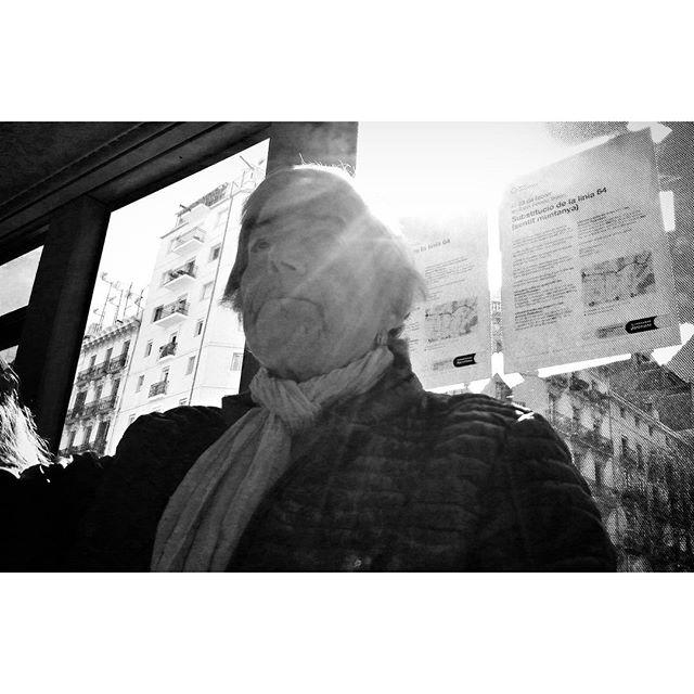 Untitled by Godo Chillida barcelona, blackandwhite, black_and_white, bn, bnw, bnw_life, bnw_society, bus, bw, bw_lover, bw_photooftheday, bw_planet, monochrome, noir, passengers, streetphoto, streetphotography, streetphotography_bw, streetphoto_bw, sunnyday, ubiquography, woman,