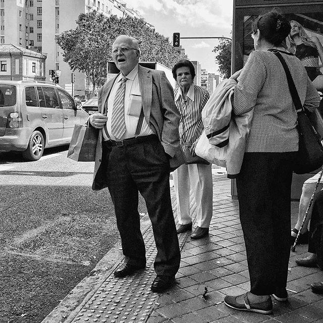 Bus stop by Antonio Jiménez Lara busstop, crisolstreet, emt, madrid, passengers, streetlife, streetphotography, streetportrait, total_streets,