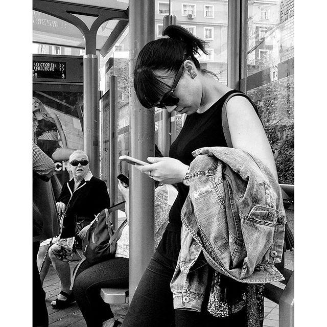 Untitled by Antonio Jiménez Lara crisolstreet, emt, madrid, passengers, streetphotography, total_streets, urban,