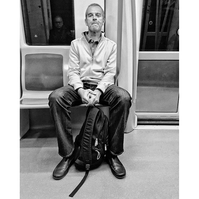 Untitled by Antonio Jiménez Lara commuters, madrid, metro, passengers, streetphotography, streetphotomadrid, total_streets,