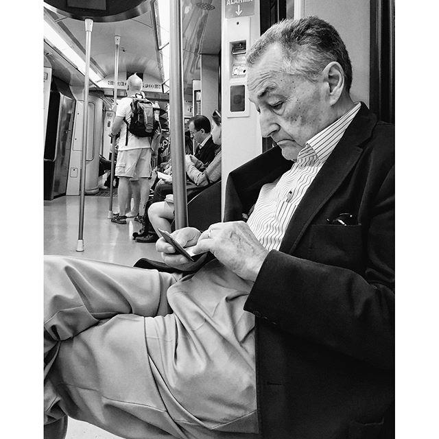 Untitled by Antonio Jiménez Lara crisolstreet, madrid, metro, passengers, streetlife, streetphotography, streetportrait, total_streets,